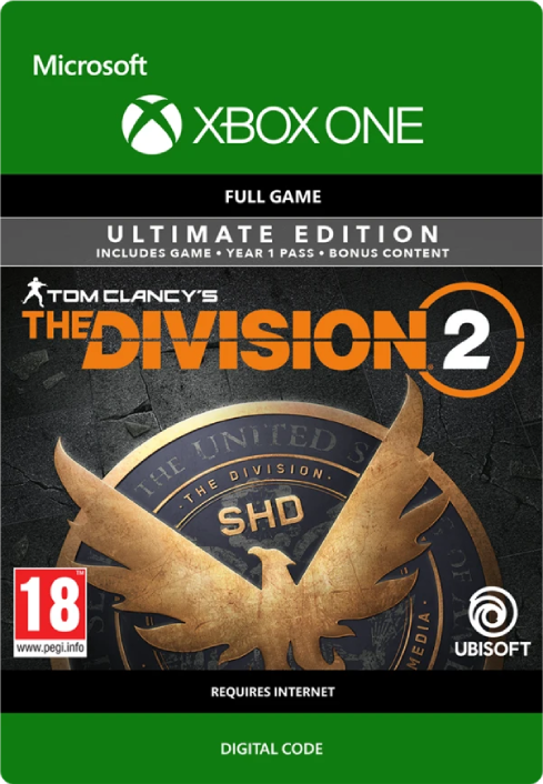 The Division 2 Ultimate Edition Xbox One