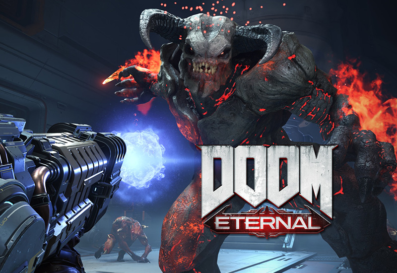 DOOM Eternal PC + DLC (EMEA) cheap key to download