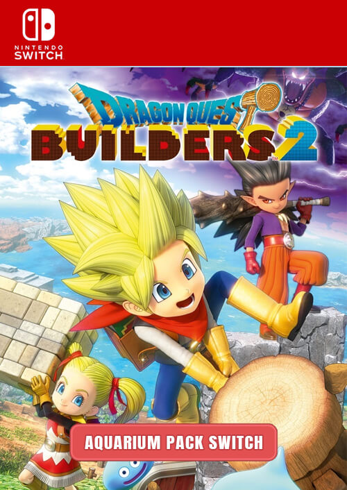 Dragon Quest Builders 2 Aquarium Nintendo Switch
