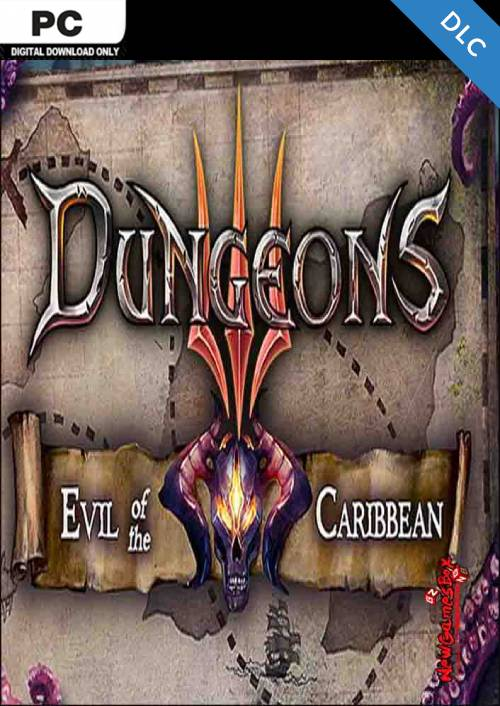Dungeons 3 - Evil of the Caribbean PC - DLC key