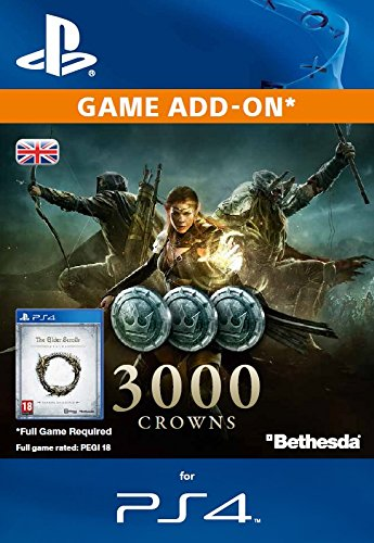 The Elder Scrolls Online - 3000 Crowns PS4
