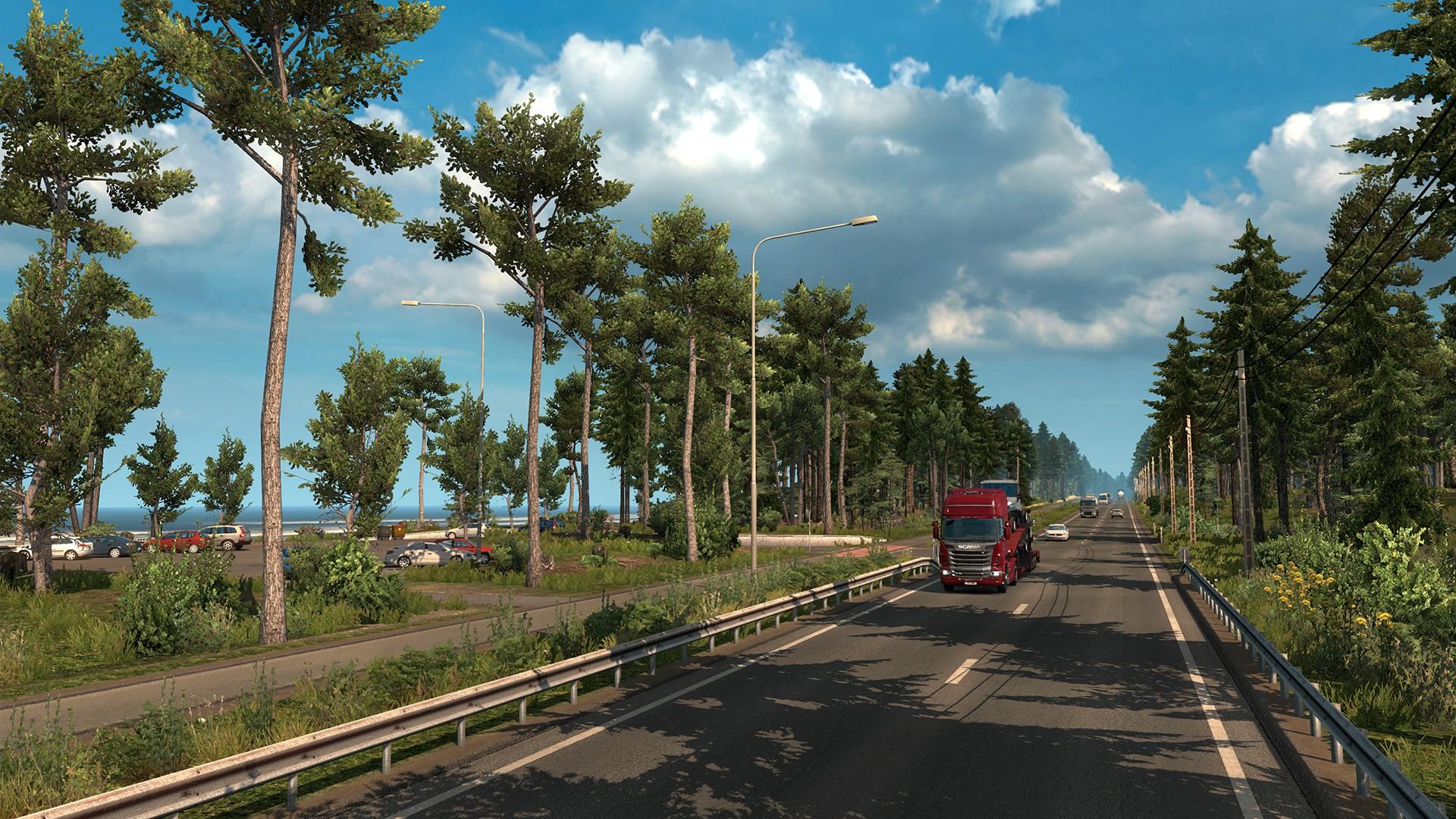 get euro truck simulator 2 beyond the baltic sea dlc pc. Black Bedroom Furniture Sets. Home Design Ideas