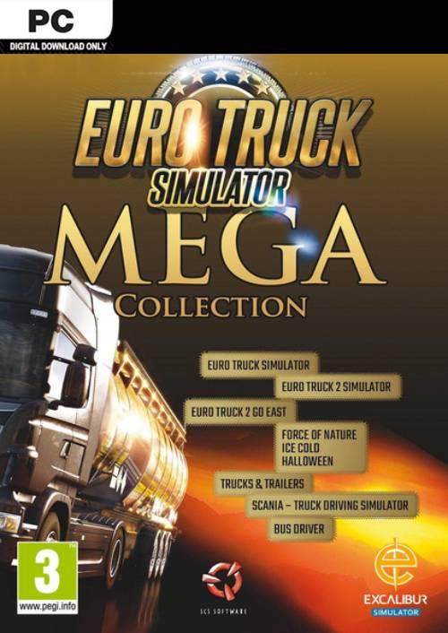 Euro Truck Simulator: Mega Collection PC key