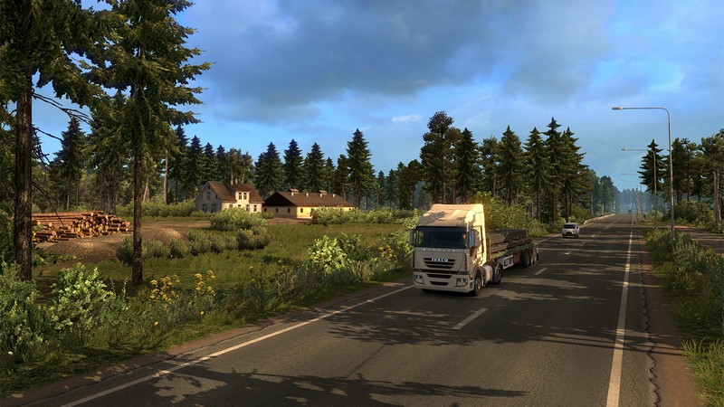 Euro Truck Simulator 2 Beyond the Baltic Sea DLC PC cheap key to download