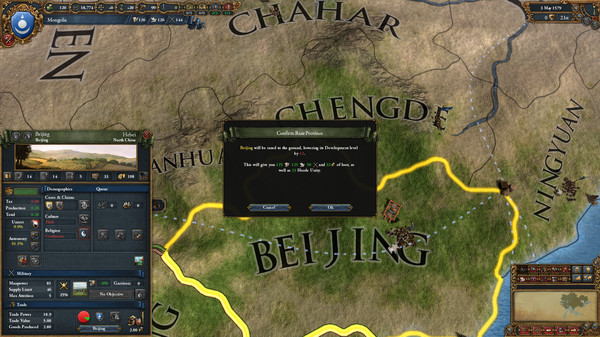 Europa Universalis IV 4 PC Cossacks DLC cheap key to download