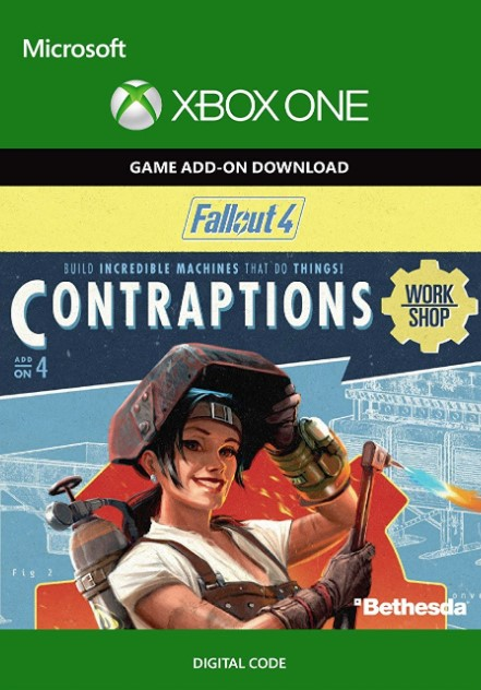 Fallout 4 Contraptions Workshop DLC Xbox One