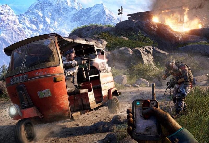 Far Cry 4 Gold Edition PC billig Schlüssel zum Download