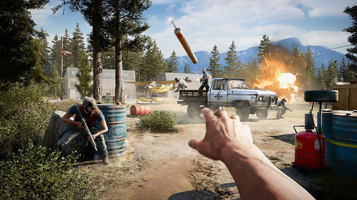 Far Cry 5 Xbox One billig Schlüssel zum Download
