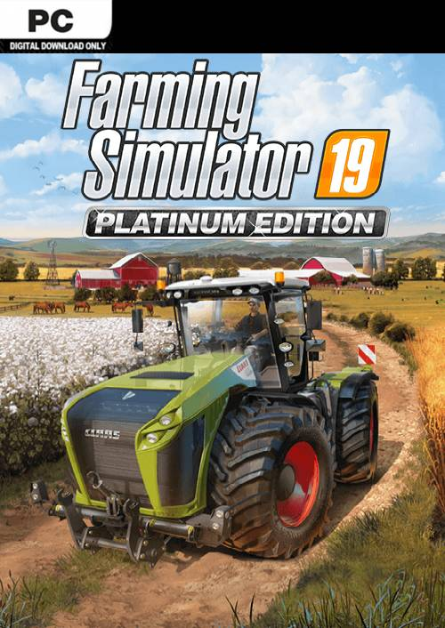 Farming Simulator 19 - Platinum Edition PC key