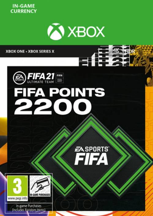 FIFA 21 2.200 FUT Points Xbox Series X