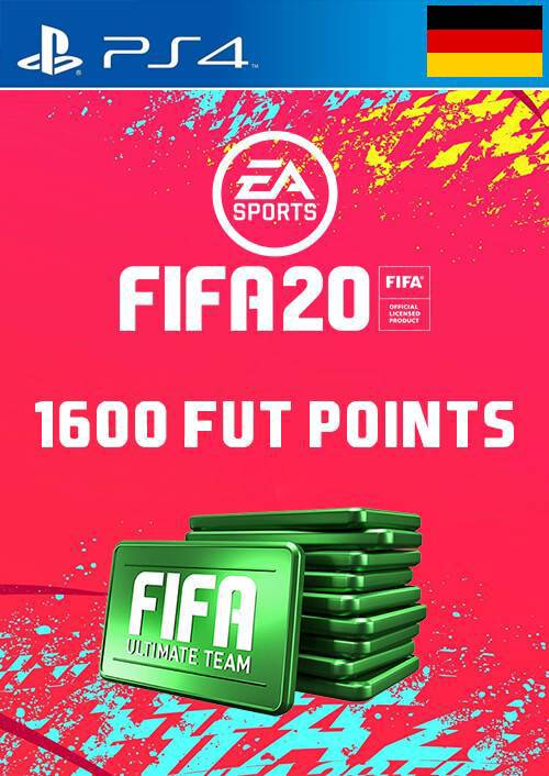 1600 FIFA 20 Ultimate Team Points PS4 (Germany) key