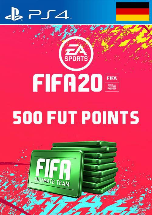 500 FIFA 20 Ultimate Team Points PS4 (Germany) key
