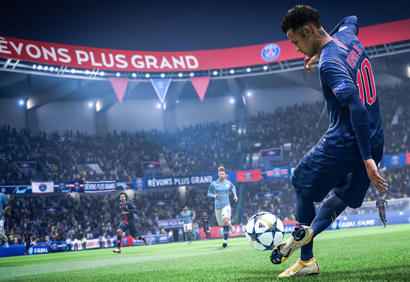 1050 FIFA 19 Points PS4 PSN Code - UK account cheap key to download
