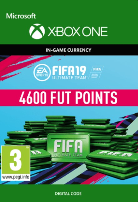 FIFA 19 4600 FUT Points Xbox One