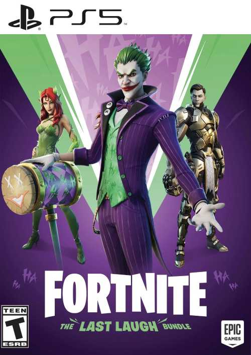 Fortnite The Last Laught Bundle PS5