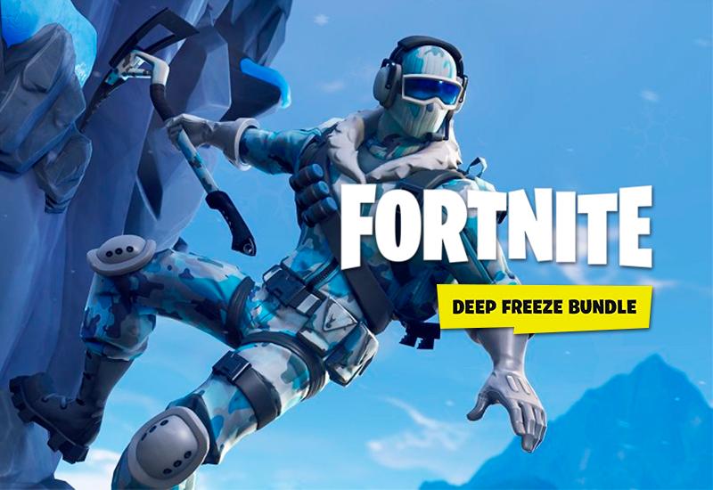 Fortnite Deep Freeze Bundle Xbox One cheap key to download