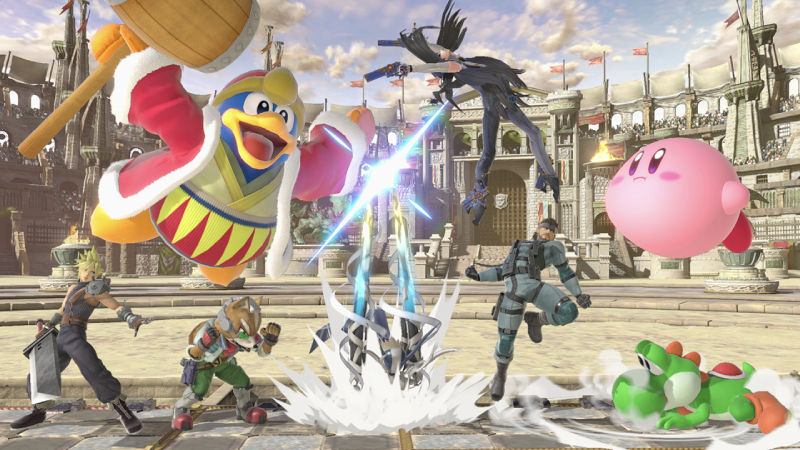 Super Smash Bros. Ultimate Switch (EU) cheap key to download