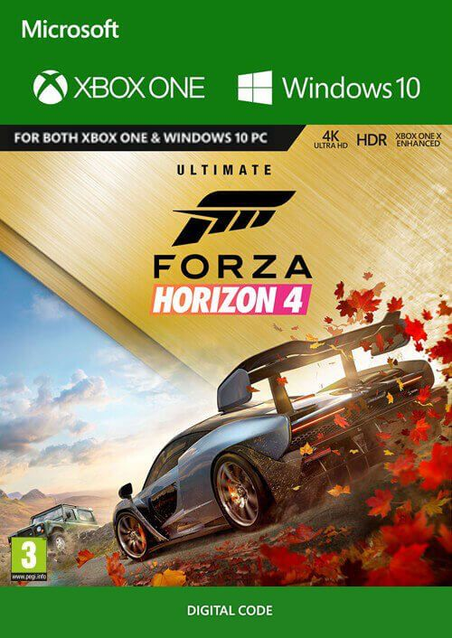 Forza Horizon 4 Xbox One Windows 10 Ultimate Edition Xbox Series X