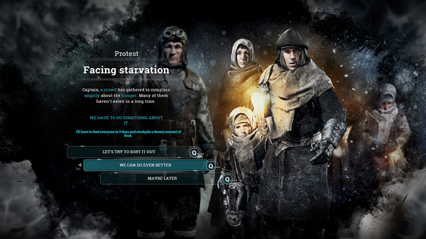 Frostpunk PC cheap key to download