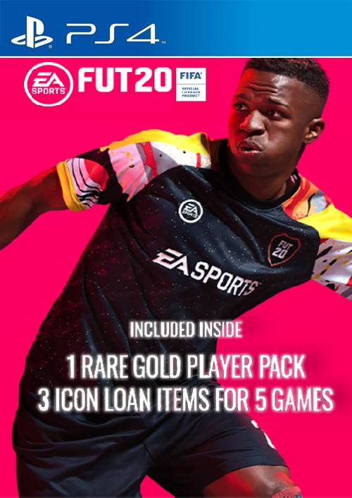 FIFA 20 - 1 Rare Players Pack + 3 Loan ICON Pack PS4 (EU) key