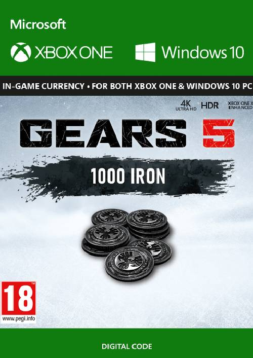 Gears 5: 1,000 Iron Xbox One key