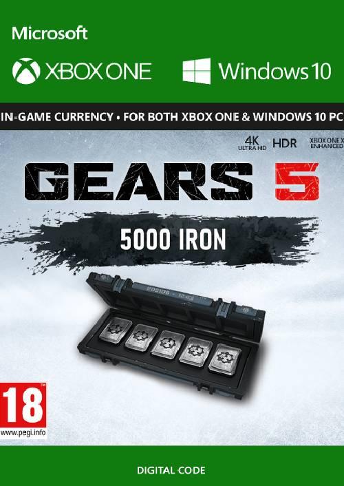 Gears 5: 5,000 Iron + 1,000 Bonus Iron Xbox One key