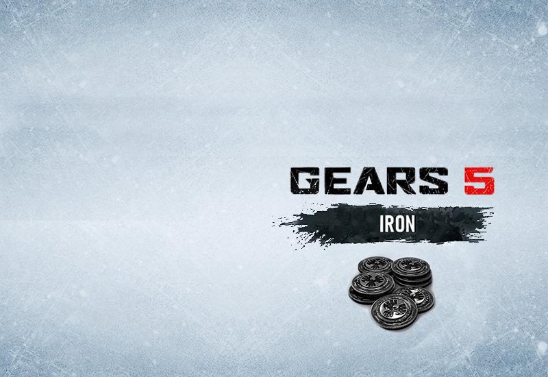 Gears 5: 10,000 Iron + 2,500 Bonus Iron Xbox One billig Schlüssel zum Download
