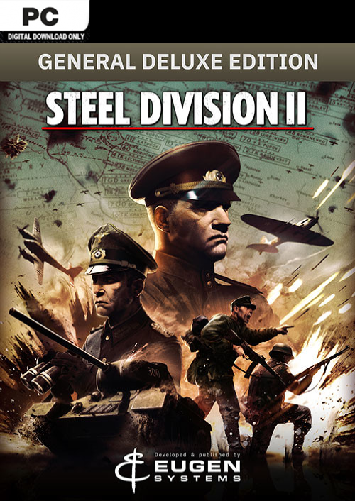 Steel Division 2 - General Deluxe Edition PC key