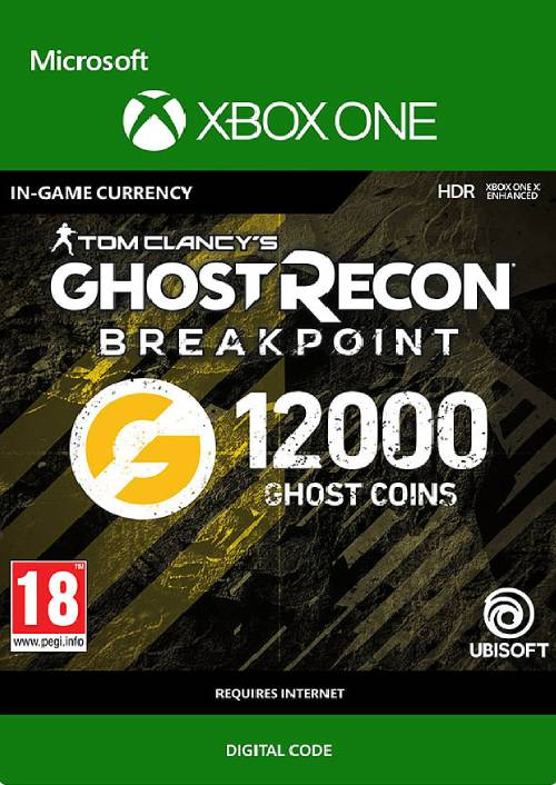 Ghost Recon Breakpoint: 12000 Ghost Coins Xbox One key