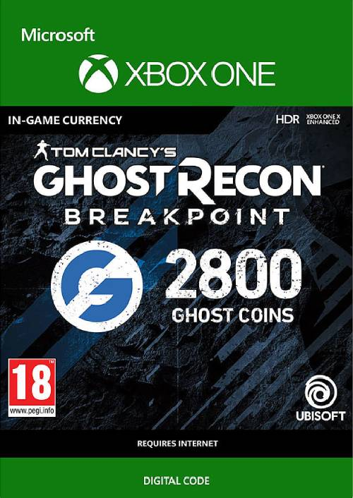 Ghost Recon Breakpoint: 2800 Ghost Coins Xbox One key