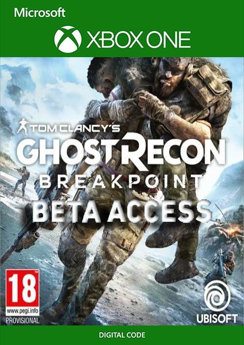 Tom Clancys Ghost Recon Breakpoint Beta Xbox One key