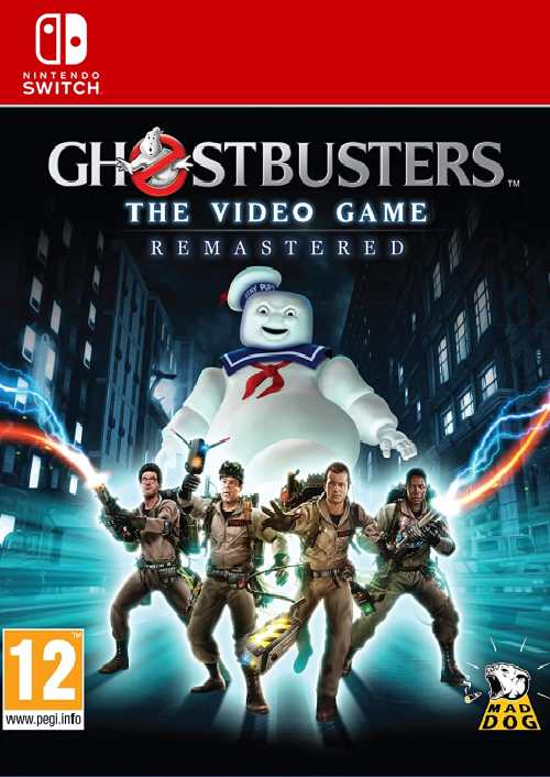 GhostbusterThe Video Game Remastered Nintendo Switch