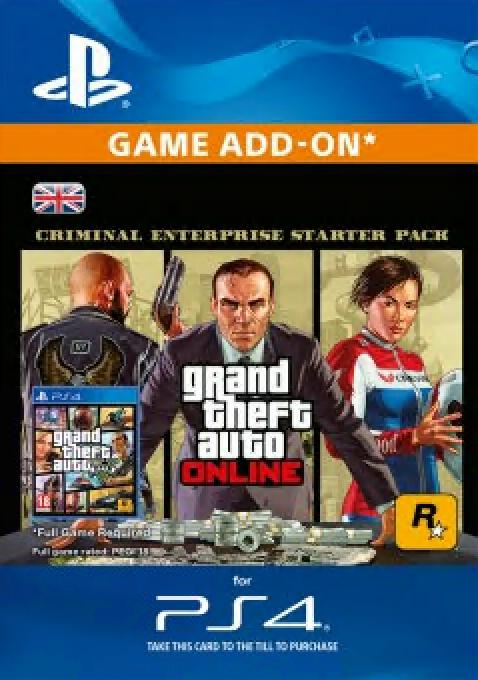 Grand Theft Auto Online (GTA V) - Criminal Enterprise Starter Pack PS4