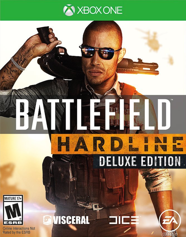 BF Battlefield Hardline Deluxe Edition Xbox One