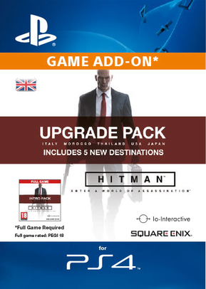 Hitman - Upgrade Pack PS4 - Digital Code cheap key to download