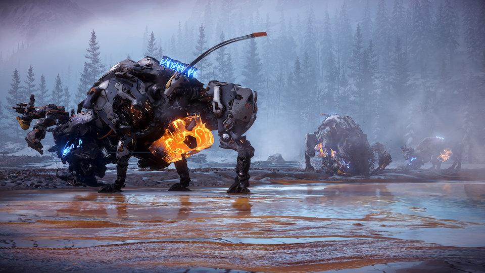 Horizon Zero Dawn: The Frozen Wilds PS4 cheap key to download