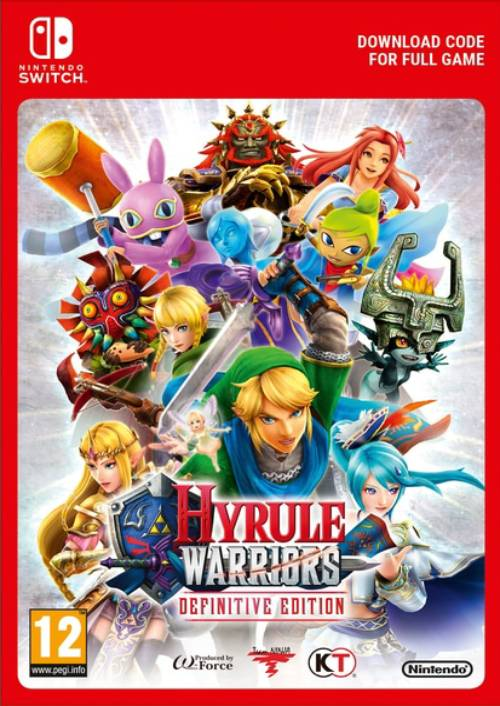 Hyrule Warriors Definitive Edition Eu Switch Cdkeys