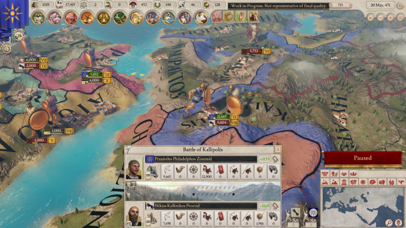 Imperator Rome Deluxe Edition PC + DLC cheap key to download