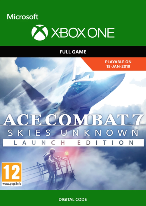 Ace Combat 7 Skies Unknown Launch Edition Xbox One