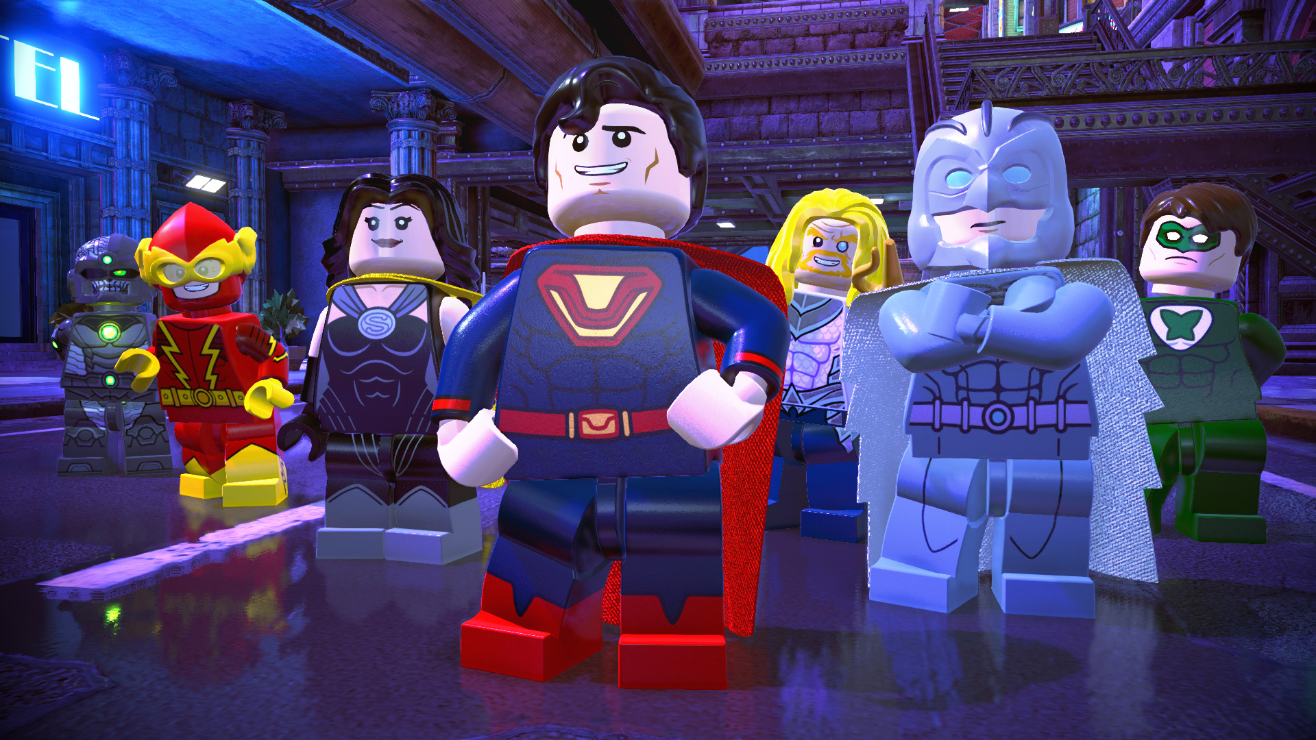Lego DC Super-Villains PC cheap key to download