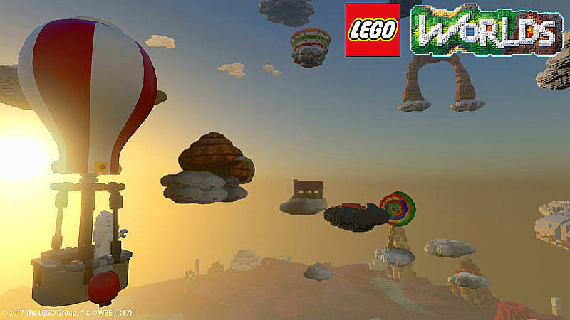 LEGO Worlds Xbox One cheap key to download