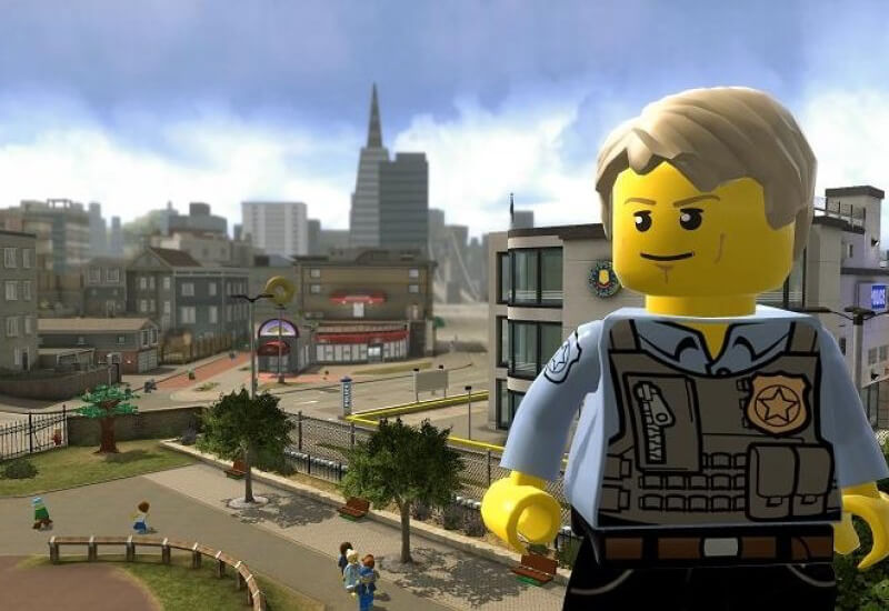 LEGO City Undercover: The Chase Begins 3DS - Game Code cheap key to download