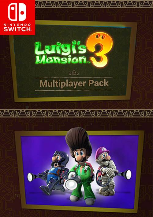 Luigi's Mansion 3 Multiplayer Nintendo Switch