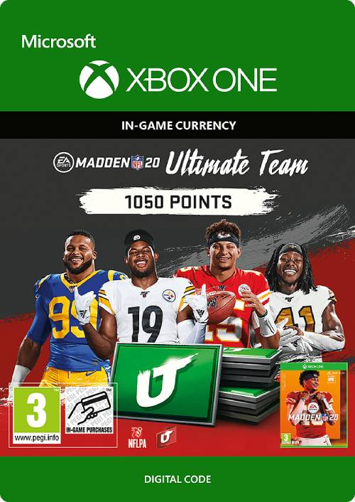 Madden NFL 20 1050  MUT Points Xbox One key