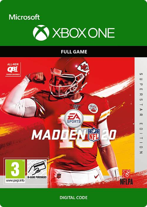 Madden NFL 20 Superstar Edition Xbox One key