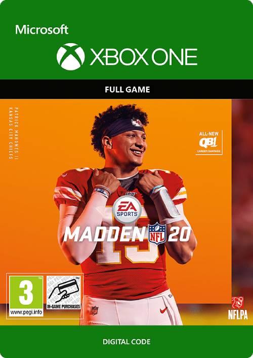 Madden NFL 20 Xbox One key