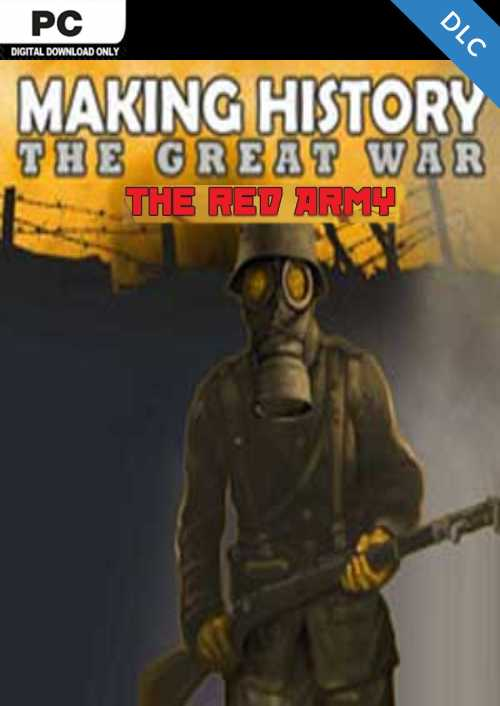 Making History The Great War - The Red Army PC - DLC key