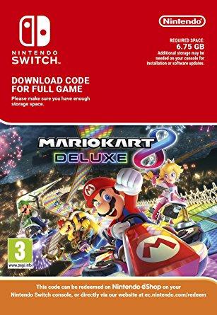 Mario Kart 8 Deluxe Switch (EU) key