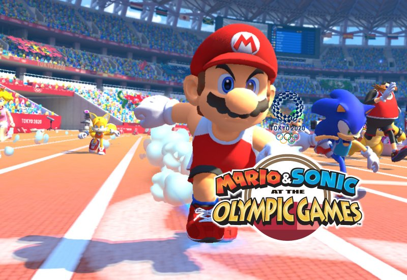 Mario & Sonic at the Olympic Games Tokyo 2020 Switch (EU) clé pas cher à télécharger