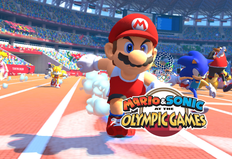 Mario & Sonic at the Olympic Games Tokyo 2020 Switch clé pas cher à télécharger